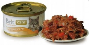 BRIT CARE TUNA, CARROT & PEA 80 g