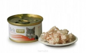 Brit Care Cat Chicken Breast PUSZKA 80g