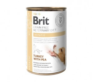 Brit GF Veterinary Diets Dog CAN Hepatic