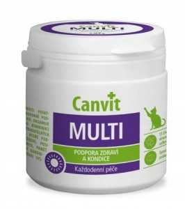 CANVIT MULTI FOR CATS 100g SUPLEMENT DIETY
