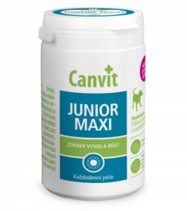 CANVIT JUNIOR MAXI FOR DOGS 230g SUPLEMENT DIETY