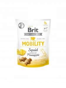 BRIT DOG FUNCTIONAL SNACK MOBILITY SQUID 150 g