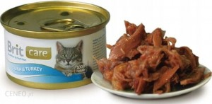 BRIT CARE TUNA & TURKEY 80 g